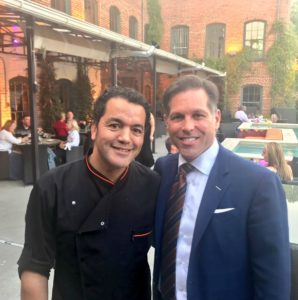 Samad Hachby and Stacy Miller at Mulino in Raleigh