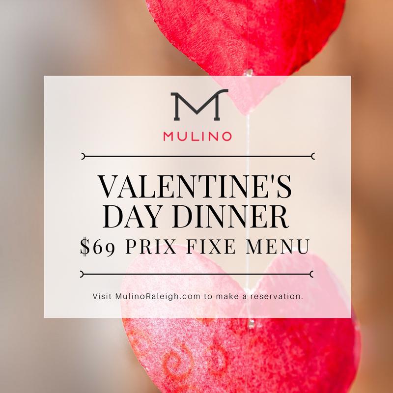 Valentine S Day At Mulino Italian Kitchen Bar Mulino Italian