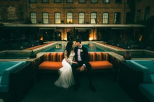 Melrose Knitting Mill Wedding
