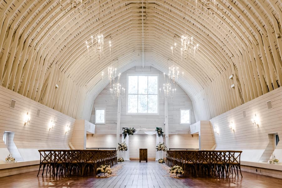 The Historic Wakefield Barn Photo by Moving Mountains Studios