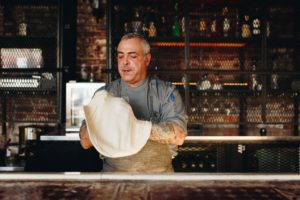 Wood Fired Pizza at Mulino Italian Kitchen & Bar. Photography By Jamie Robbins.