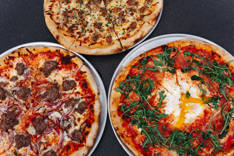 Pizza at Mulino Italian Kitchen & Bar. Photography By Jamie Robbins.