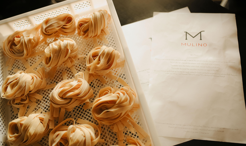House-Made Pasta at Mulino. Photography by Jamie Robbins.