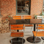 Outside Seating at Mulino. Photography by Jamie Robbins.