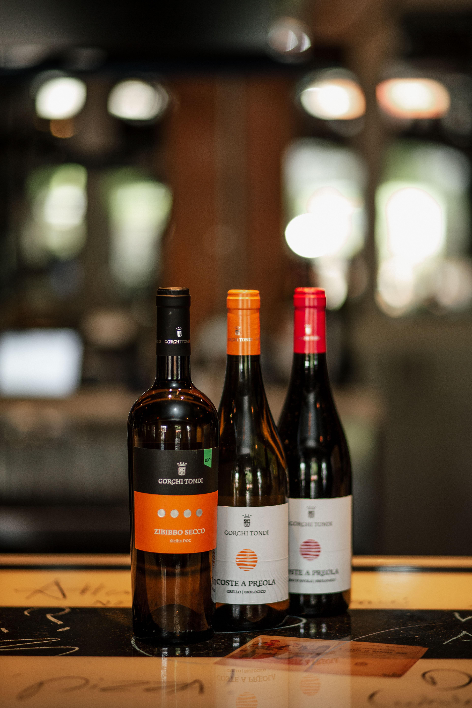Wine at Mulino. Photography by Jamie Robbins.