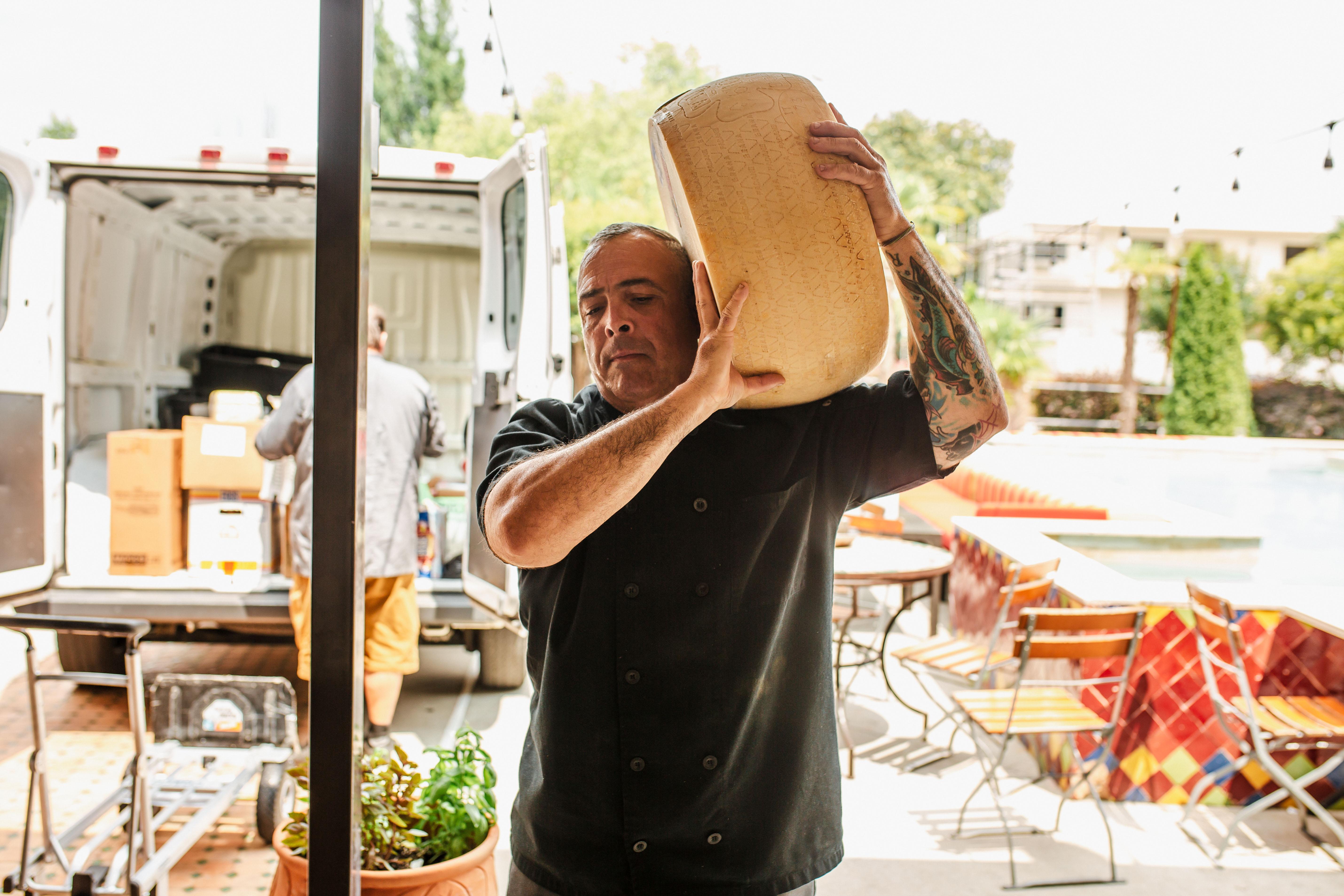 Staff at Mulino Italian Kitchen & Bar. Photography by Jamie Robbins.
