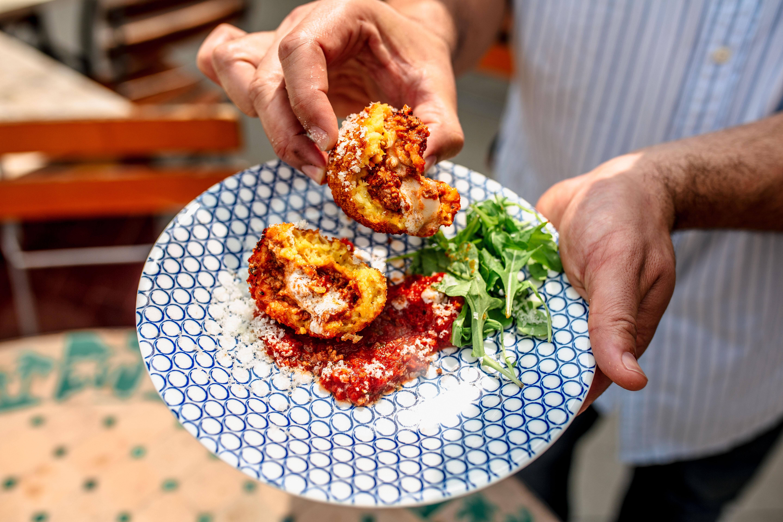 Fresh Food at Mulino Italian Kitchen & Bar. Photography by Jamie Robbins.