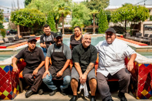 Staff at Mulino Italian Kitchen & Bar. Photography by Jamie Robbins.