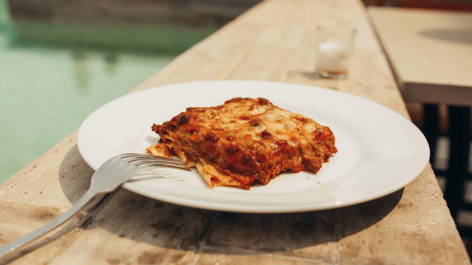House-Made Lasagna at Mulino. Photography by Jamie Robbins.