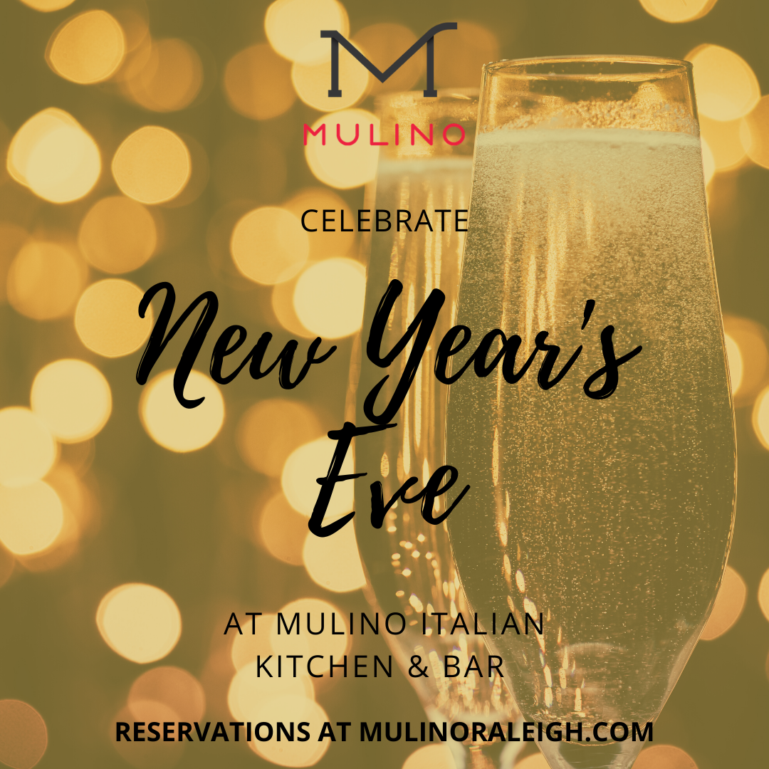 Celebrate New Year's Eve at Mulino