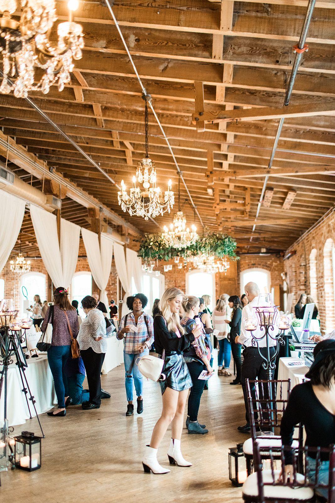 Weddings + Warehouses Tour at Melrose Knitting Mill