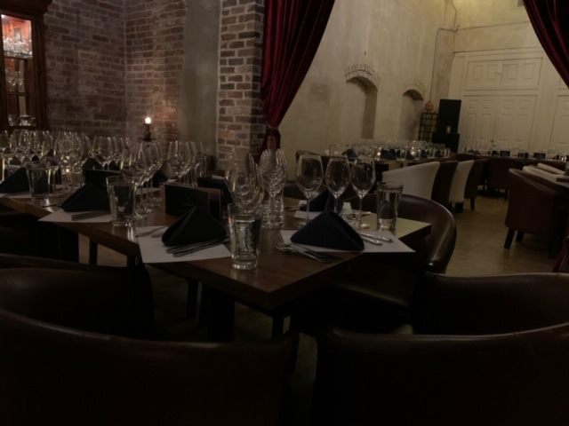 2020 Triangle Wine and Food Experience Dinner at Mulino