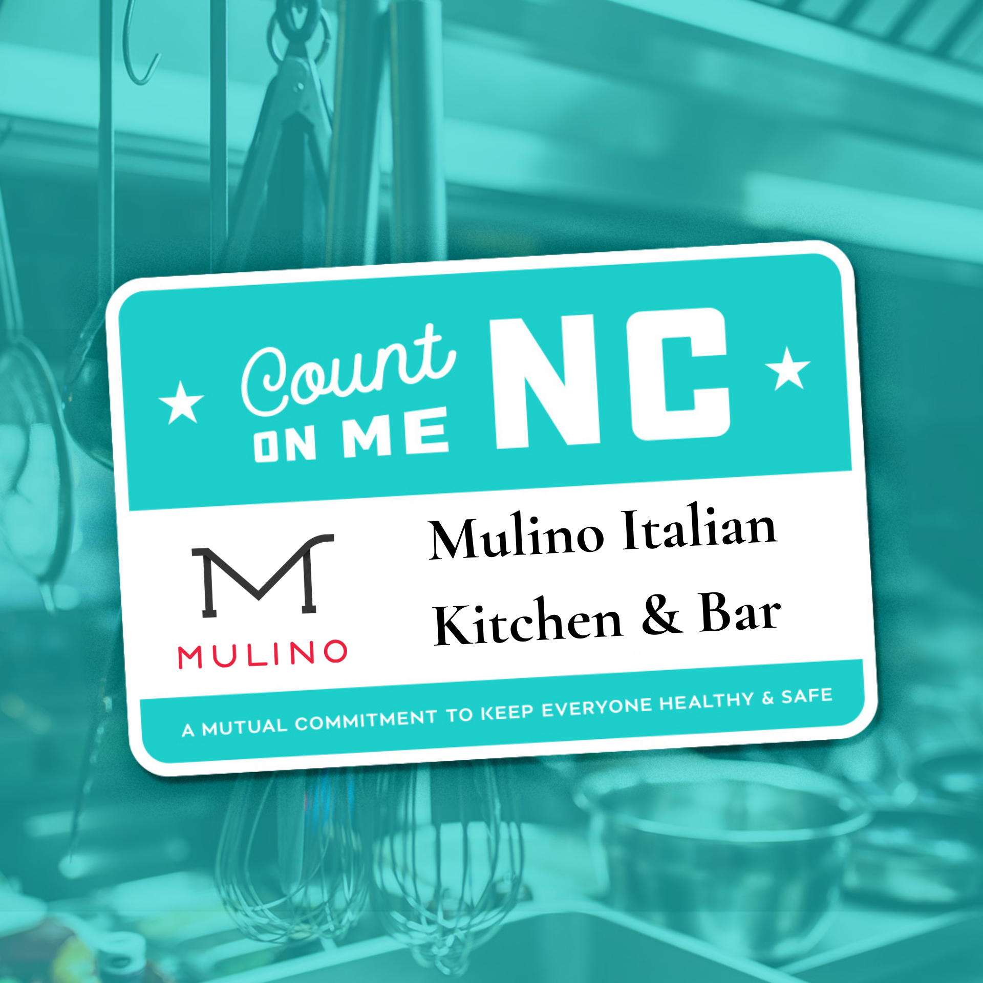 Mulino Count On Me NC
