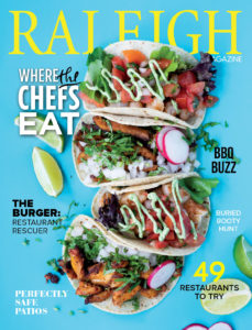 Raleigh Magazine September 2020 Cover