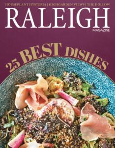 Raleigh Magazine 25 Best Dishes
